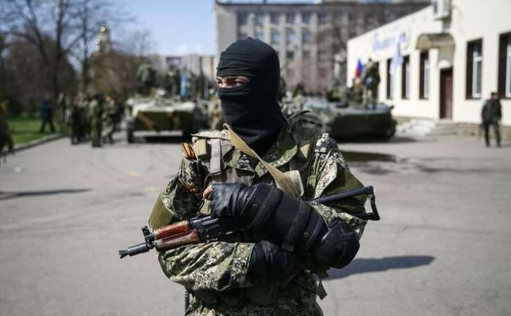 Srbski plačanci, ki se borijo na strani proruskih separatistov, so sprli Kijev in Beograd