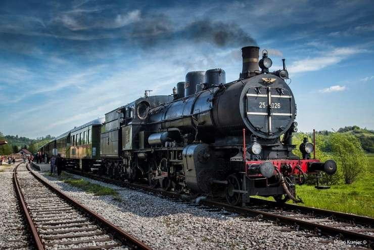 FOTO: To soboto začetek pustolovščin z muzejskim vlakom
