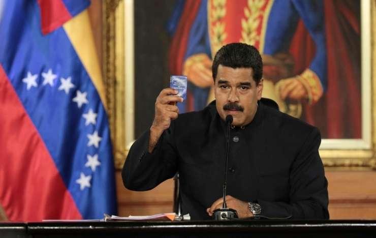 Maduro bi se rad pogovoril s Trumpom