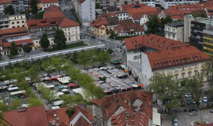 Jankovićev pohod na Plečnikovo tržnico