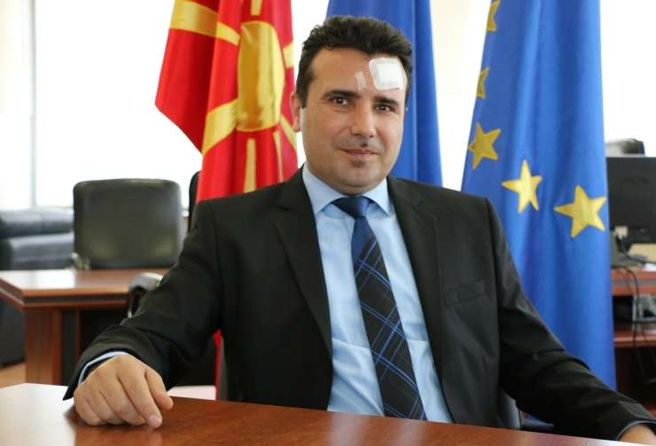 Makedonski predsednik Ivanov podelil mandat za sestavo vlade Zaevu