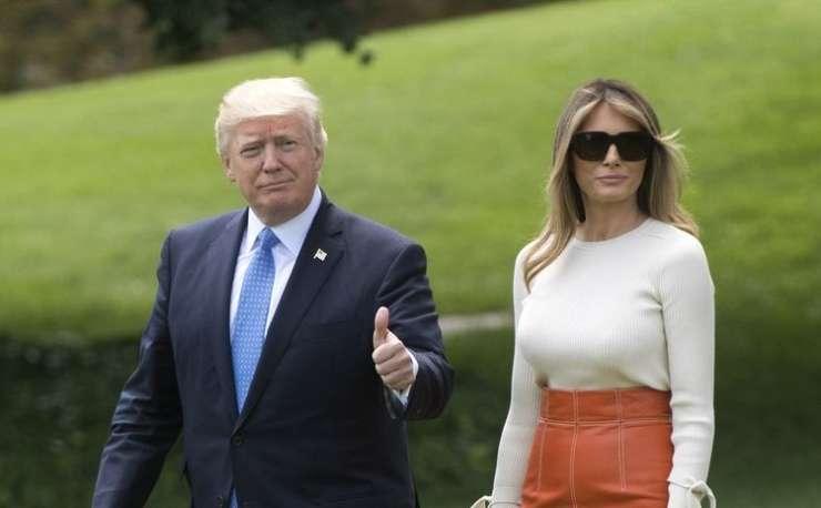 Donald in Melania gresta v svet: gostitelji dobili navodila, kako ravnati s Trumpom