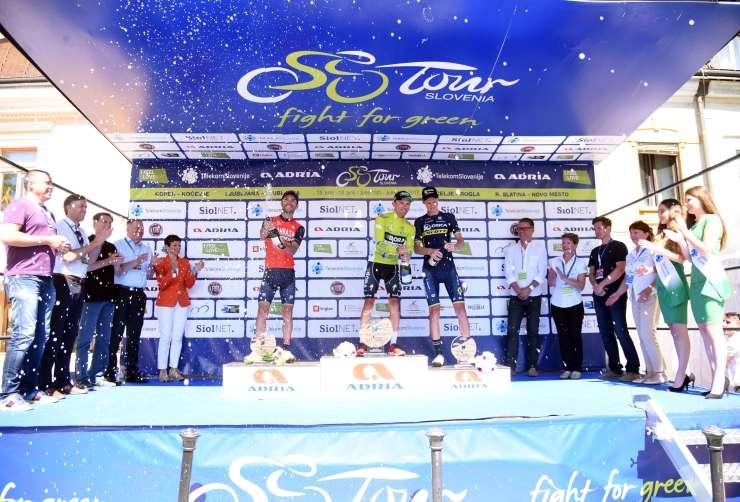 Majka zmagovalec dirke Po Sloveniji, Bennettu zadnja etapa