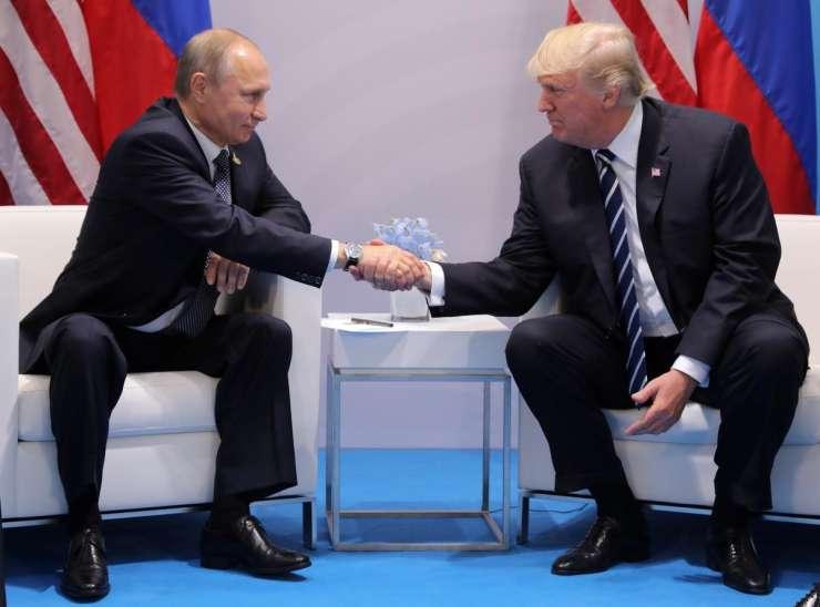Trump: Putin je užaljen zaradi obtožb o vmešavanju v ameriške volitve