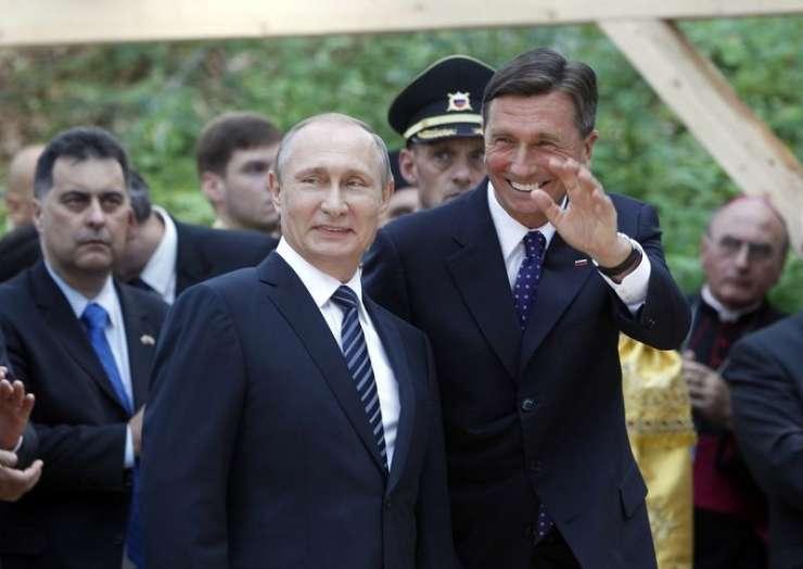 Pahorju čestitala Putin in Juncker, od Trumpa še nič