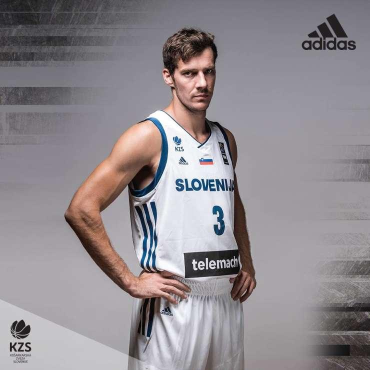 Slovenski košarkarji po novem v Adidasovih dresih