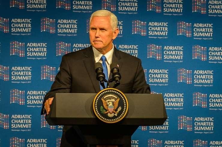 Pence: Amerika prva ne pomeni Amerika sama, zaveznice bomo podprli