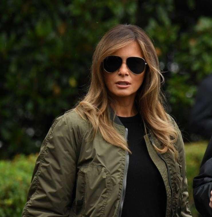 Prva dama ZDA Melania Trump obiskala Teksas