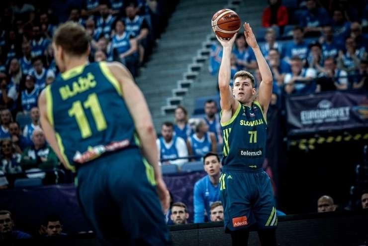 Slovenci proti Ukrajincem za četrtfinale evropskega prvenstva
