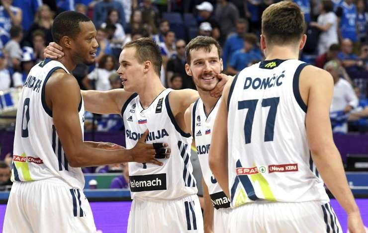 Dragić, Dončič in ostali junaki proti Špancem za zgodovinski finale