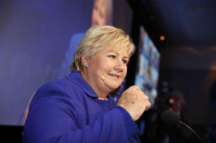 Na norveških volitvah zmago razglasila desnosredinska koalicija
