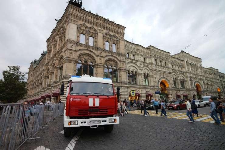 V Rusiji so zaradi groženj z bombami evakuirali 45.000 ljudi