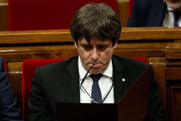 Puigdemont pravi, da neodvisnost ni edina možnost za Katalonijo