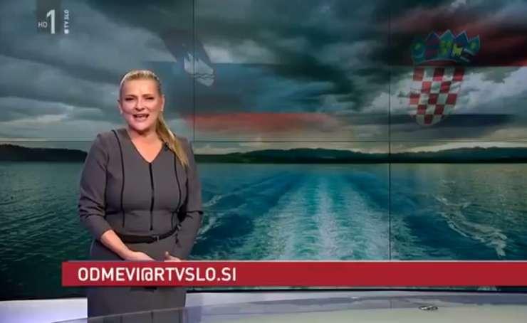 Vir iz TV Slovenija: »Drži, voditeljica Odmevov je bila sinoči pijana, treznila jo je Miša Molk«