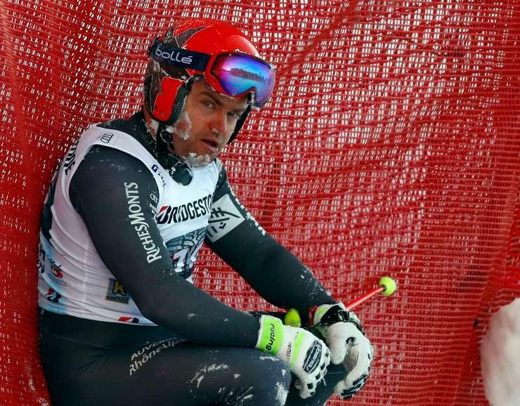 Alpsko smučanje žaluje: V Kanadi se je med treningom ubil smukač David Poisson