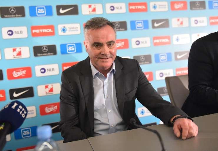 Tomaž Kavčič tudi uradno novi selektor slovenske moške nogometne reprezentance