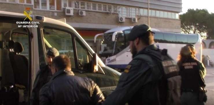 (VIDEO) V Španiji prijeli bando Slovencev in Srbov, ki so ropali podjetja