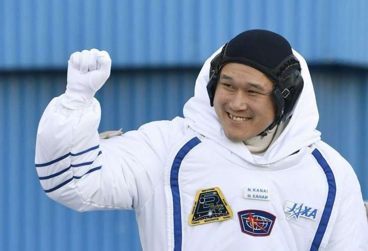 Ups, zmotil sem se: japonski astronavt v vesolju zrasel za dva in ne devet centimetrov
