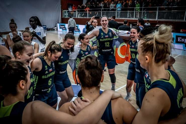 Slovenia basketball players have rated the Eurobasket for the second time