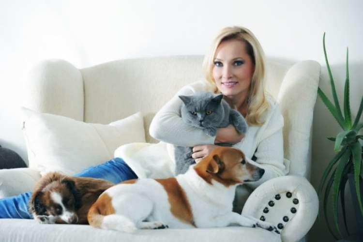 Tanja je velika ljubiteljica živali.