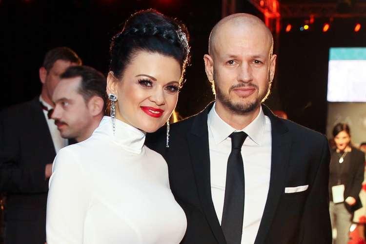 Nina Osenar in njen partner, Dejan Kontrec.