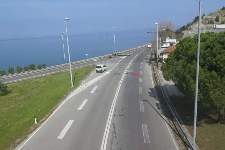 obalna cesta, koper-izola, parenzana