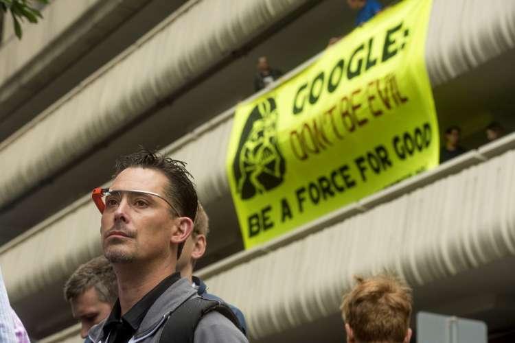 google, protest