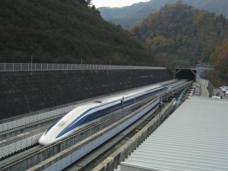 Maglev, vlak, Japonska