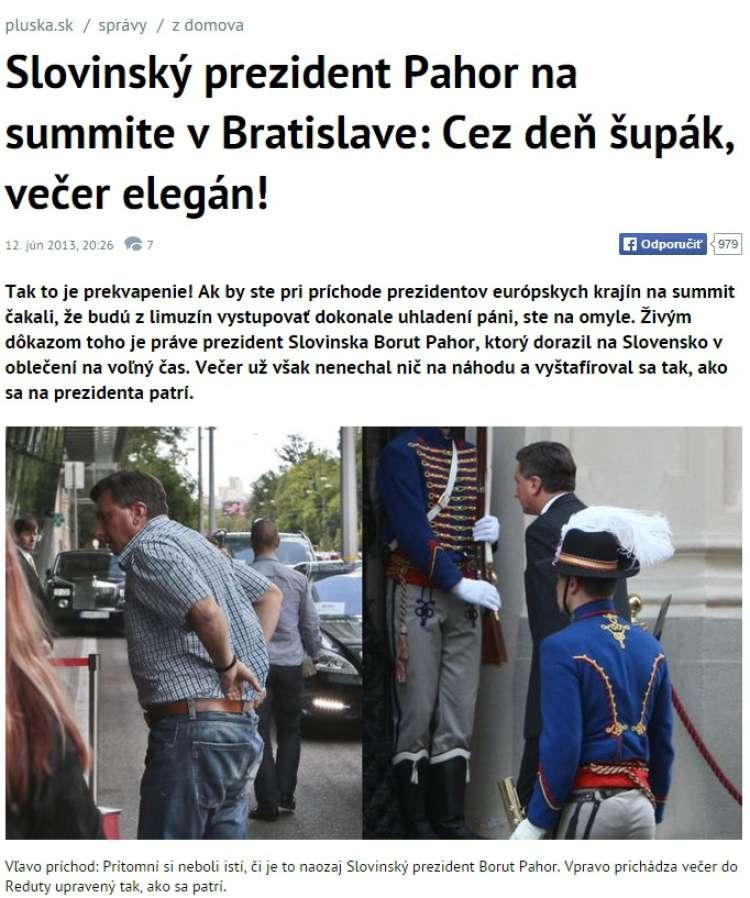 pahor na slovaškem