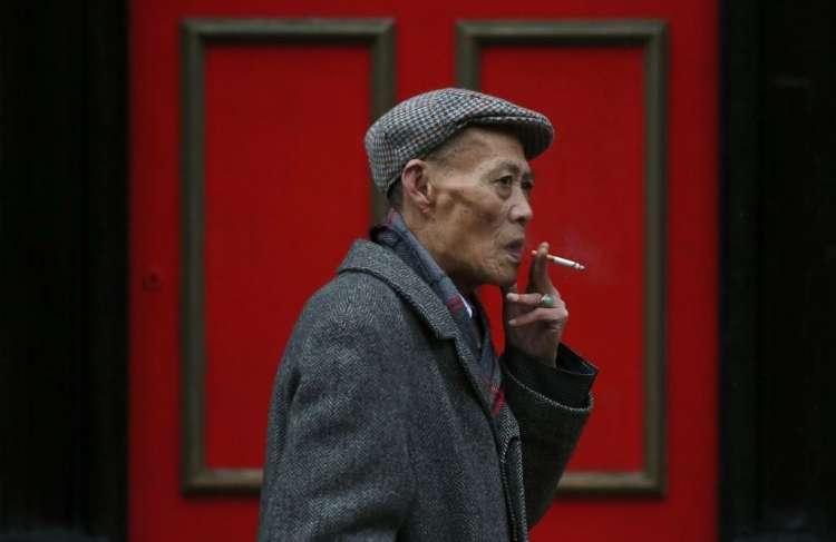 kitajska kitajec cigareta kajenje