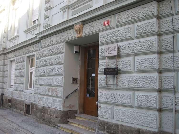 Sedež Medobčinskega društva slepih in slabovidnih Maribor