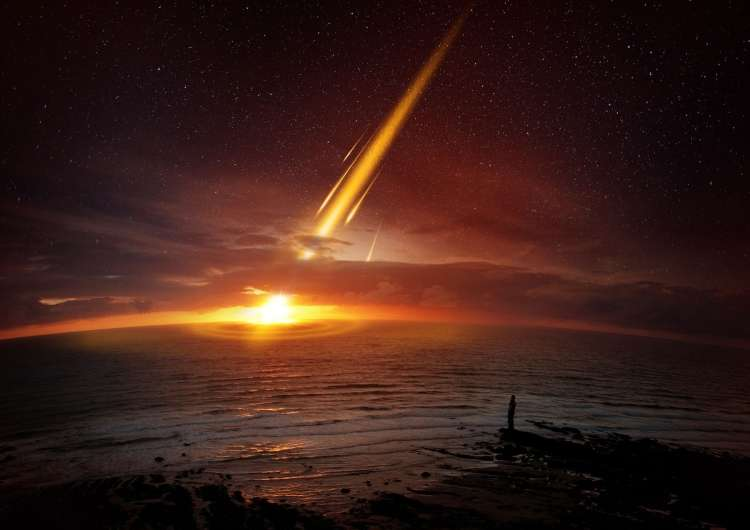 Asteroid, meteor
