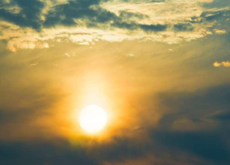 Sonce, sončno, jasno, oblaki, nebo