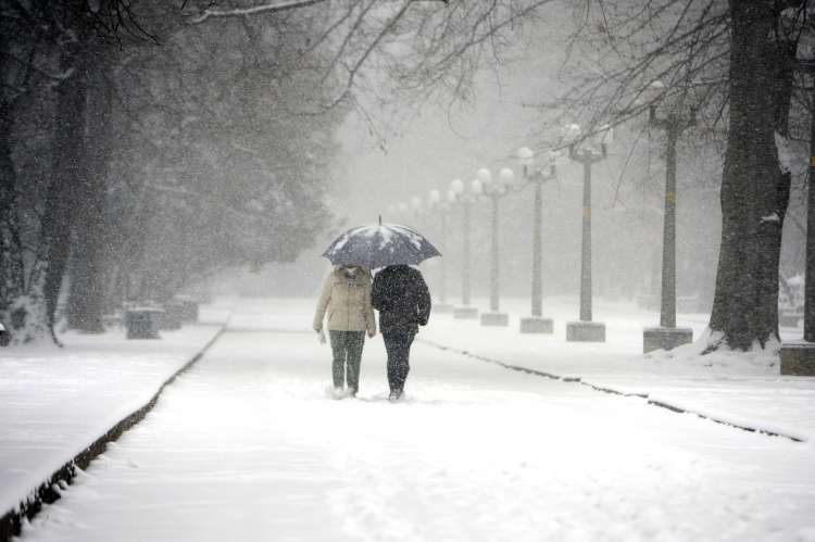 Sneg, sneženje, Maribor
