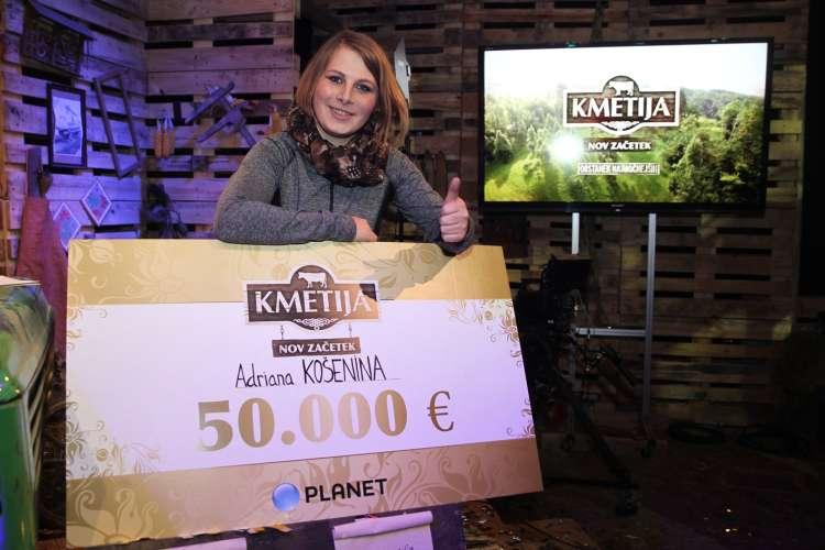 Adriana, Kmetija nov začetek