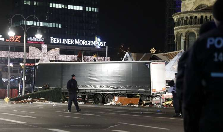 berlin tovornjak napad