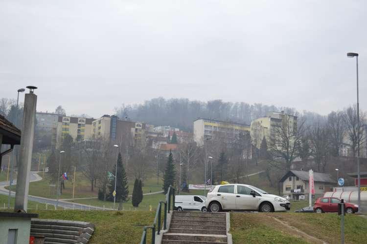 Ganca po prihodu v Hrastnik ustavili policisti-2