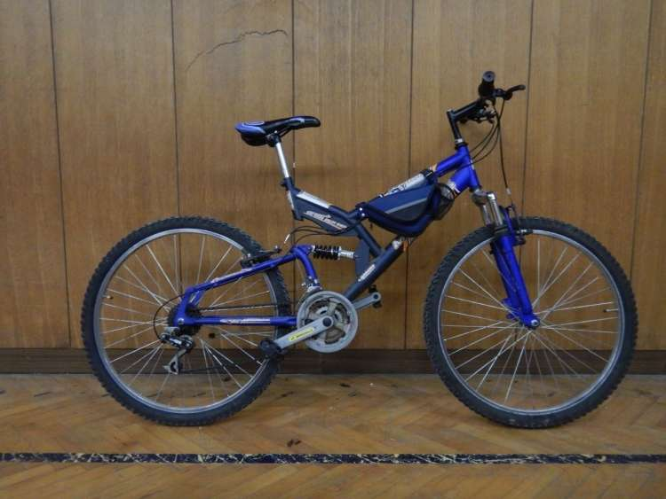 Uplan Masta Bike, sedež MASC Bike, s torbico preko okvirja