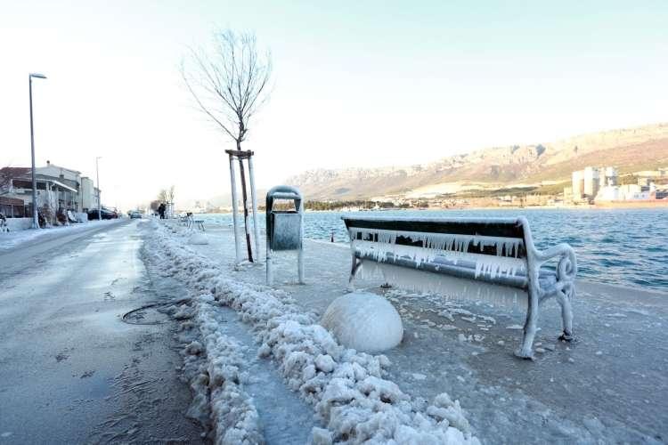 vranjić sneg mraz hrvaška