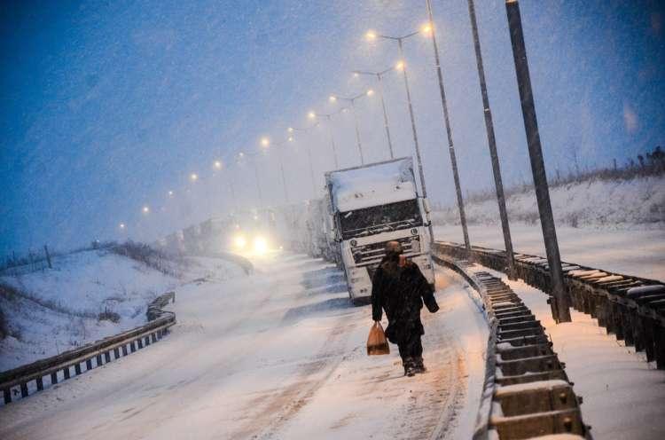 Bolgarija, zima, mraz