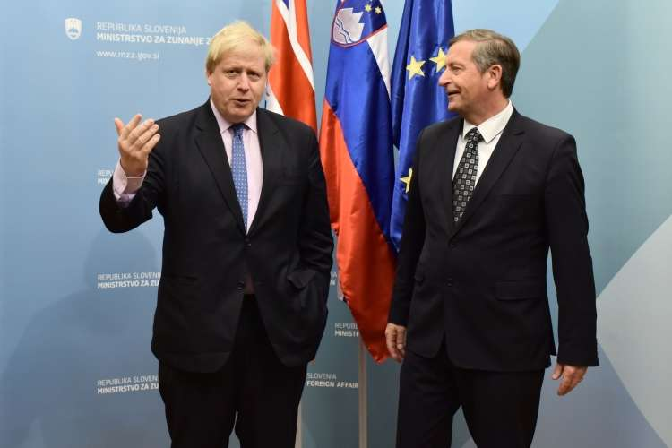 boris johnson, karl erjavec