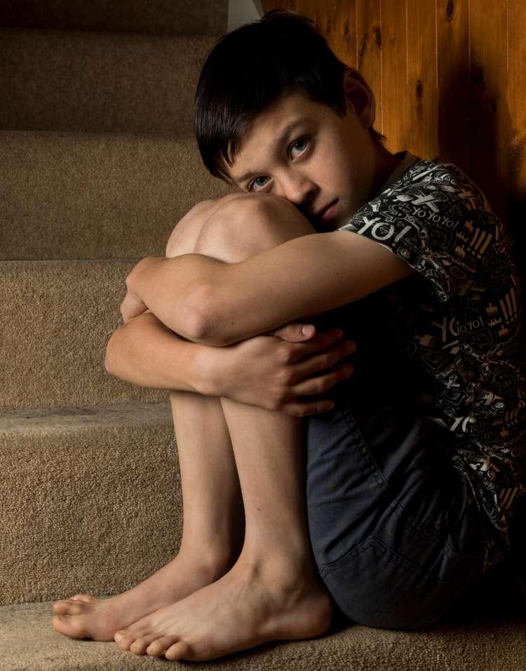 Zlorabljen deček