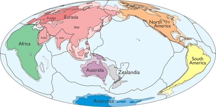 Zealandia, zelandija