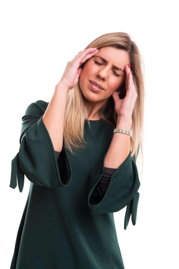 ženska, glavobol
