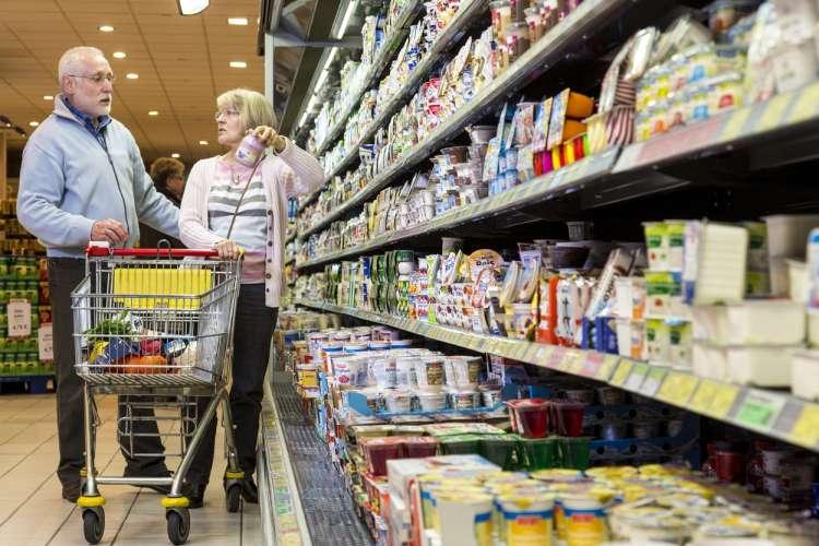 nakupovanje hrane