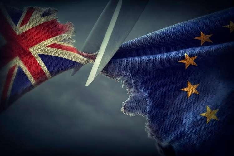 zastava, velika britanija, evropska unija, brexit