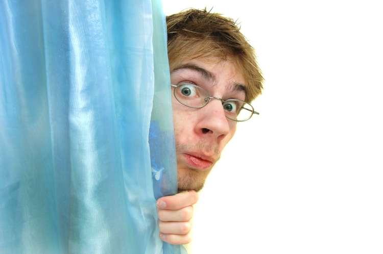 prhanje, zavesa za prhanje,