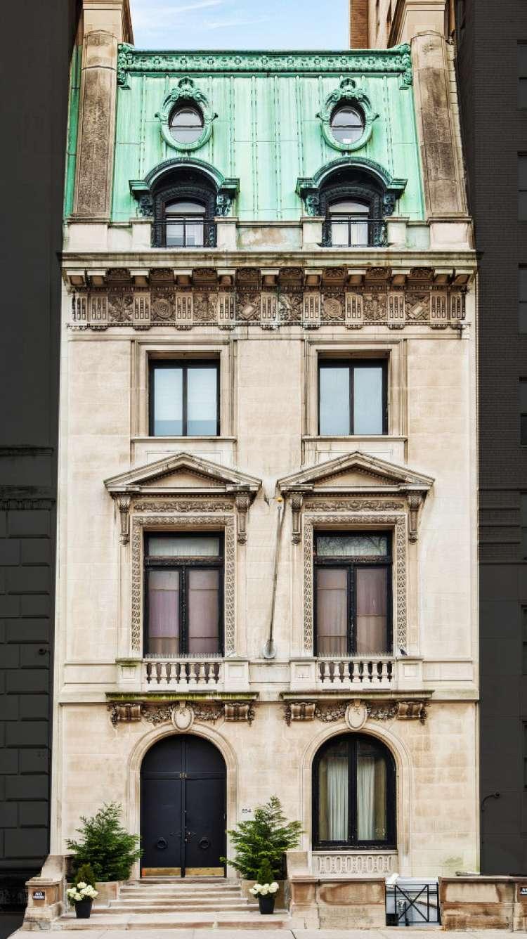FOTO3 Zunanjost hiše na Peti aveniji v New Yorku