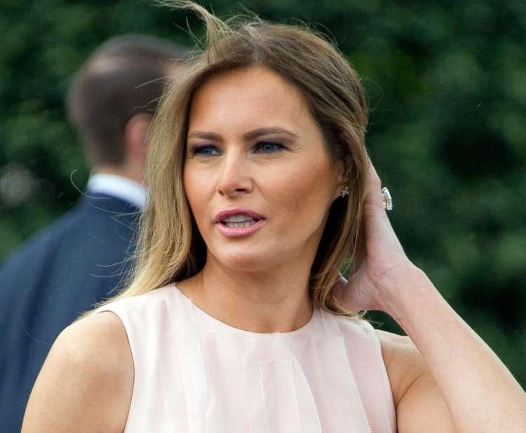 Priljubljenost Melanie Trump je še vedno za 16 točk višja od priljubljenosti njenega moža.