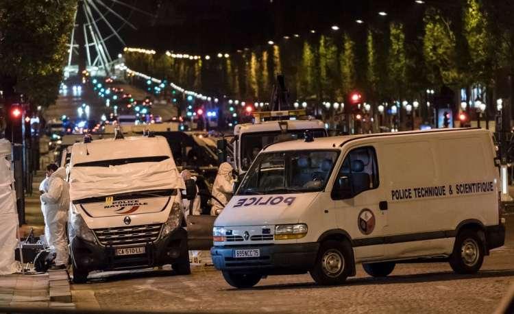 Pariz, streljanje